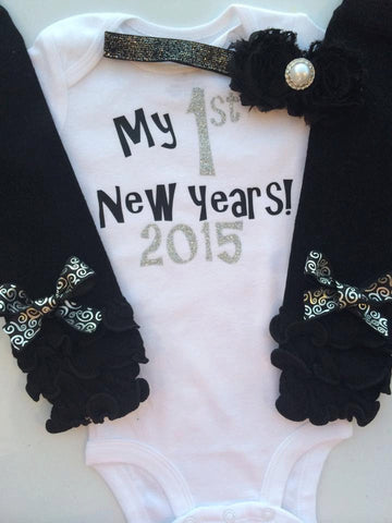 0d31a7afc6b7c ... Baby girl 1st New years outfit - my first new years outfit - 2017 New  years