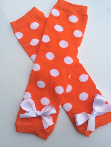 Baby Girl Leg warmers - girls leg warmers - Candy Corn Legwarmers - Fall Leg warmers - Thanksgiving Leg warmers