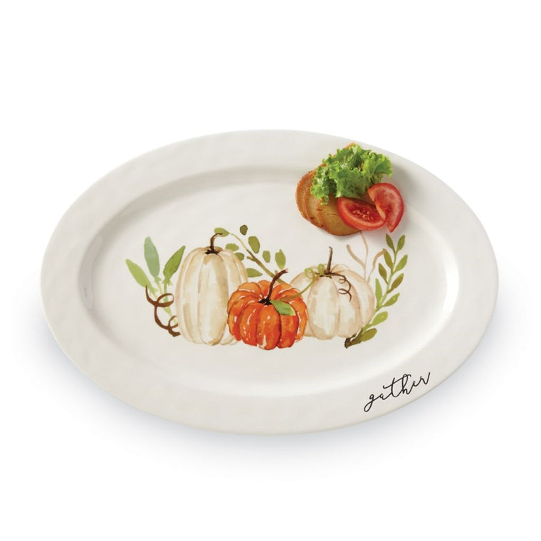 Fall GATHER PUMPKIN PATCH PLATTER