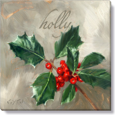 Holly  Giclee  9 x 9 Wall Art - Darren Gygi