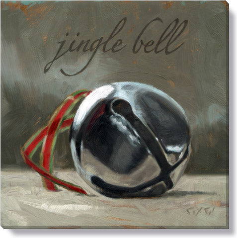 Jingle Bell Giclee 9 x 9 Wall Art - Darren Gygi