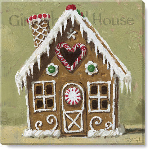 Gingerbread House Giclee Art Print - Darren Gygi