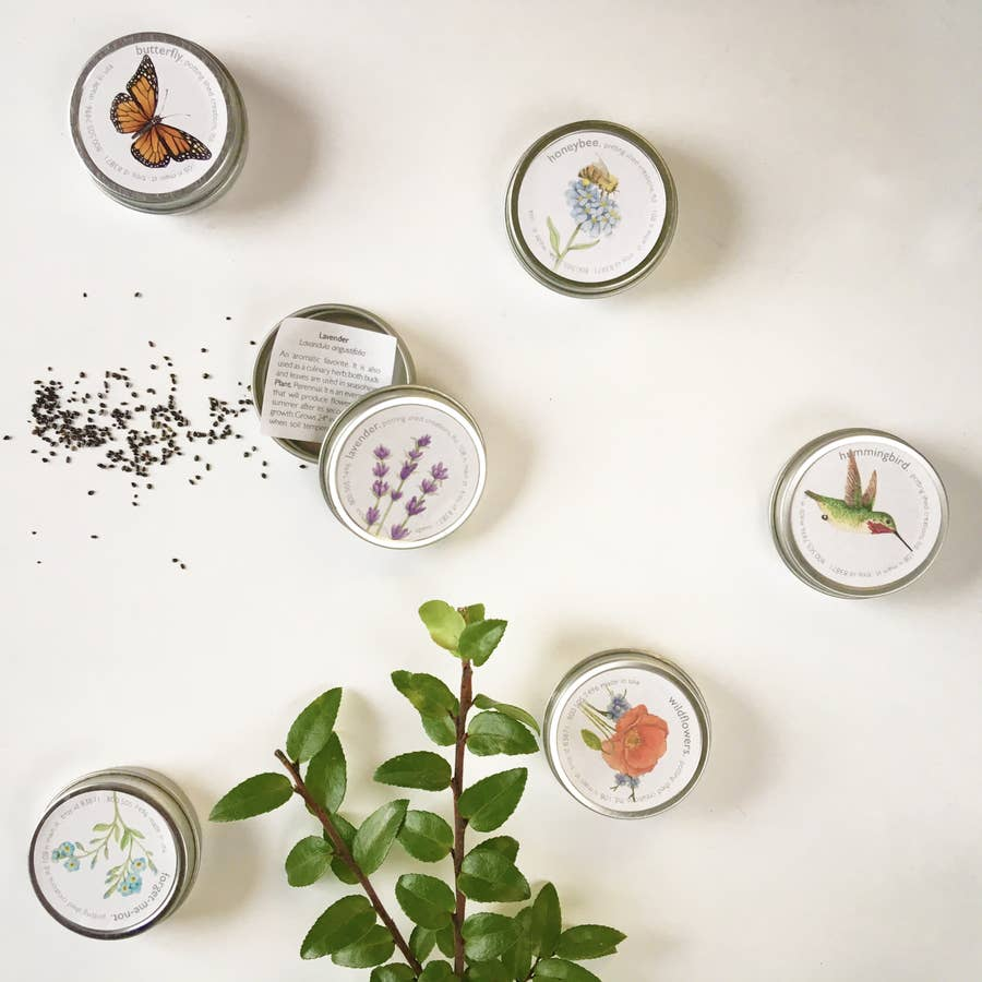 Seeds Garden Sprinkles Tins