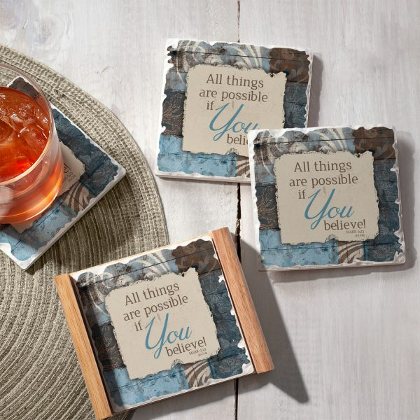 Coaster Set – All things are Possible