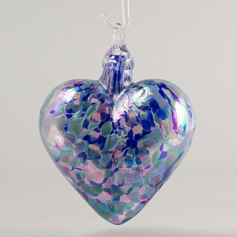 Blown Glass Lavender