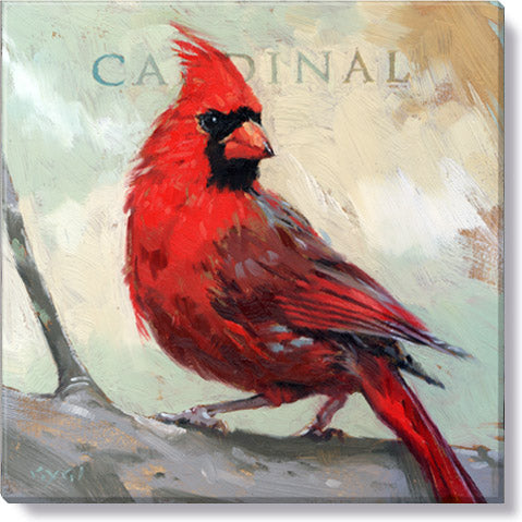 Cardinal Bird Wall Art - Darren Gygi