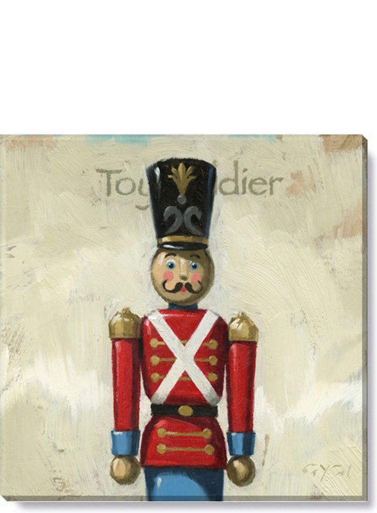 Toy Soldier Giclee  9 x 9 Wall Art - Darren Gygi