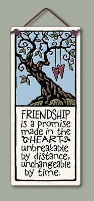 ''Friendship is a promise...'' Tile