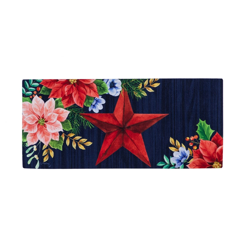 Christmas  Sassafras Switch Mat Country Star
