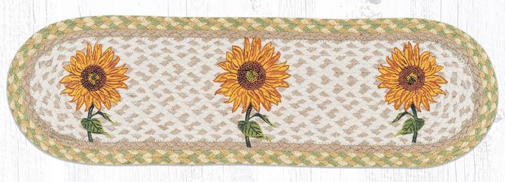 Table Runner/Stair Tread Sunflower