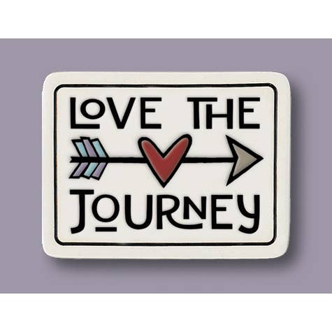 Magnet Love the Journey Tile