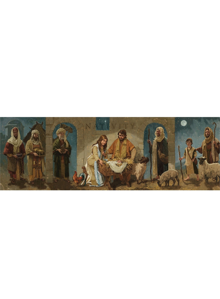 NATIVITY GICLEE WALL ART - Darren Gygi