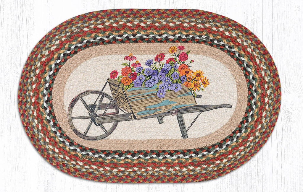 Wheelbarrow Rug