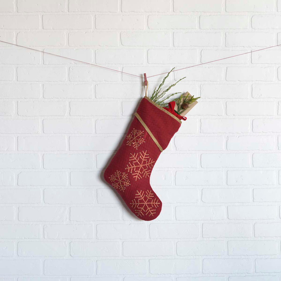 REVELRY STOCKING 11X15