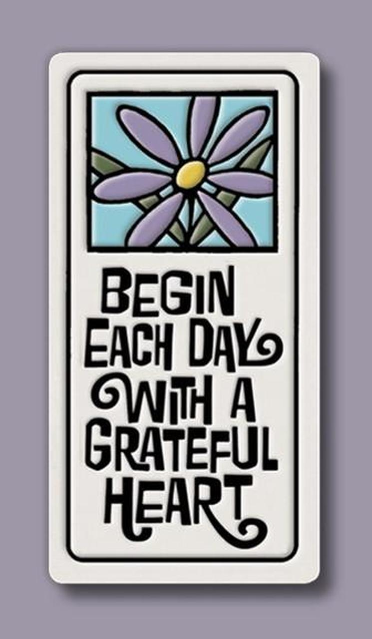 Magnet Grateful Heart Tile