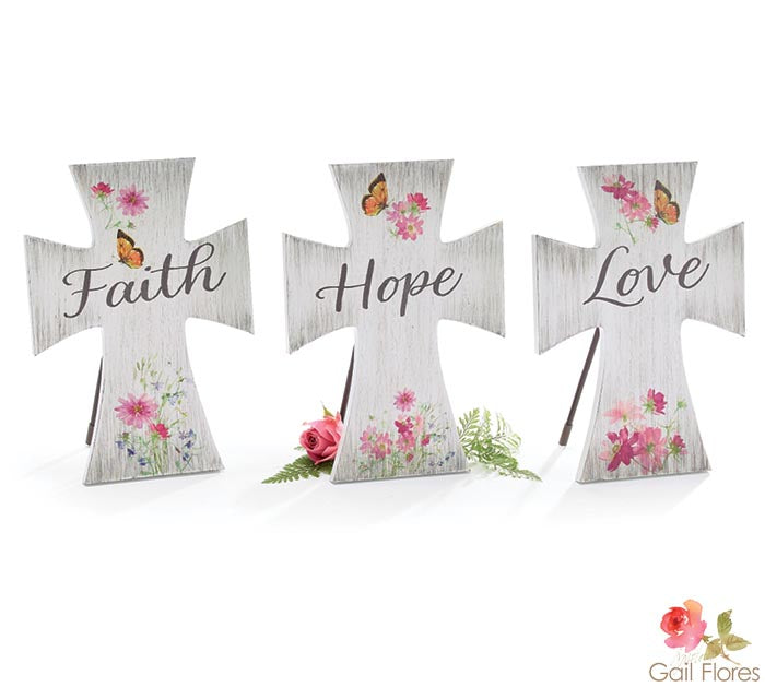 FAITH, HOPE, LOVE CROSSES