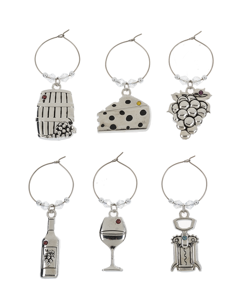 Wine Charms - Happy Hour (6 pc. set
