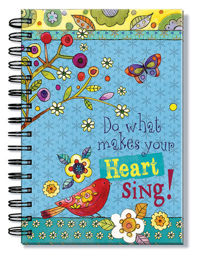 Journal, Do what makes your heart sing