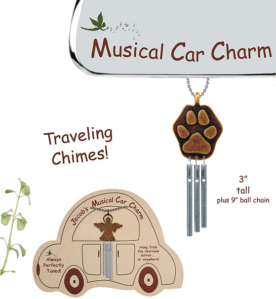 Jacob's Musical Car Charms