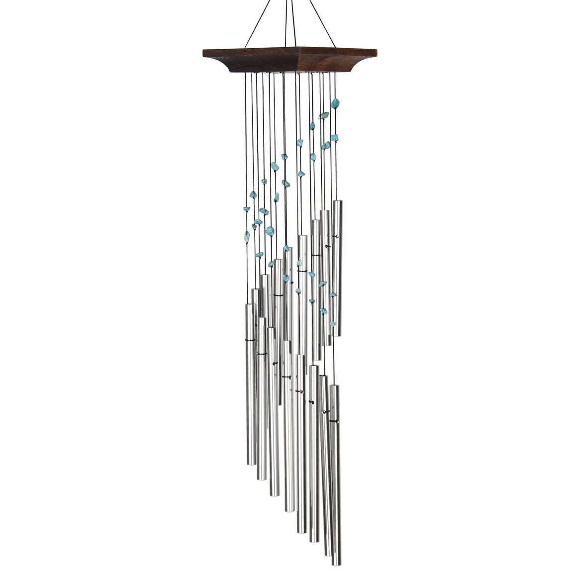 Woodstock Mystic Spiral Chime - Turquoise