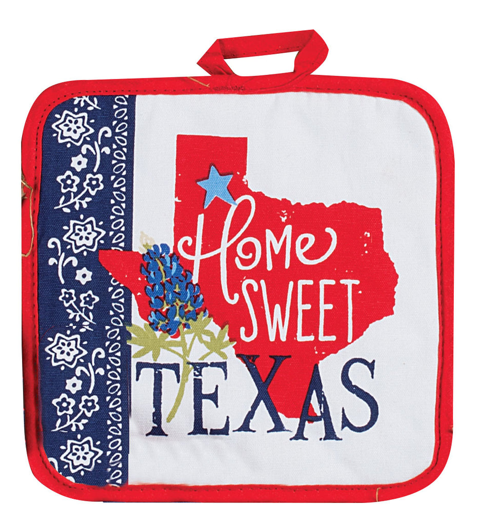 Home Sweet Texas Potholder