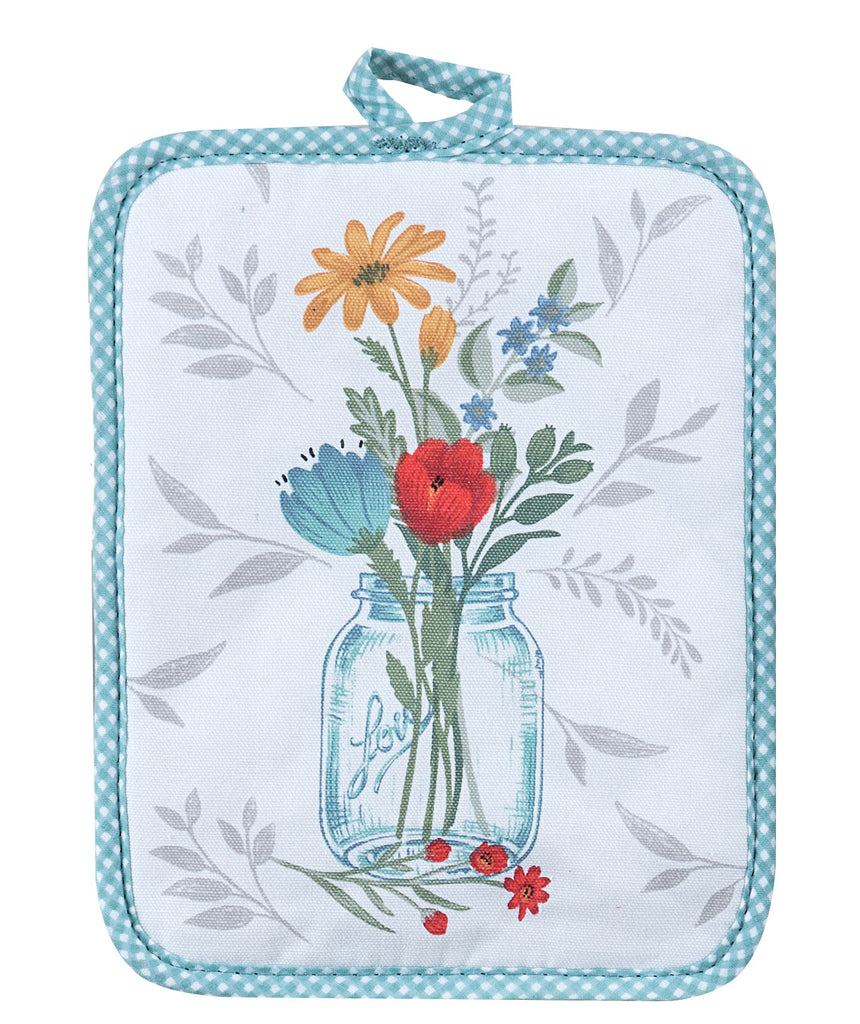 Blooming Thoughts Potholder