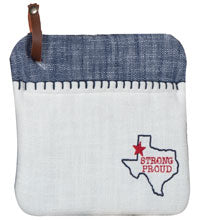 Texas Pride Embroidered Pocket Mitt