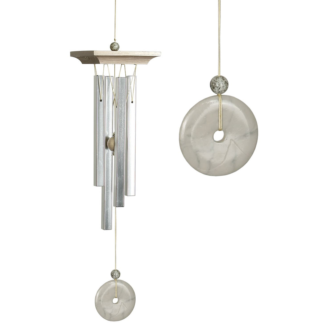 Woodstock White Marble Chime