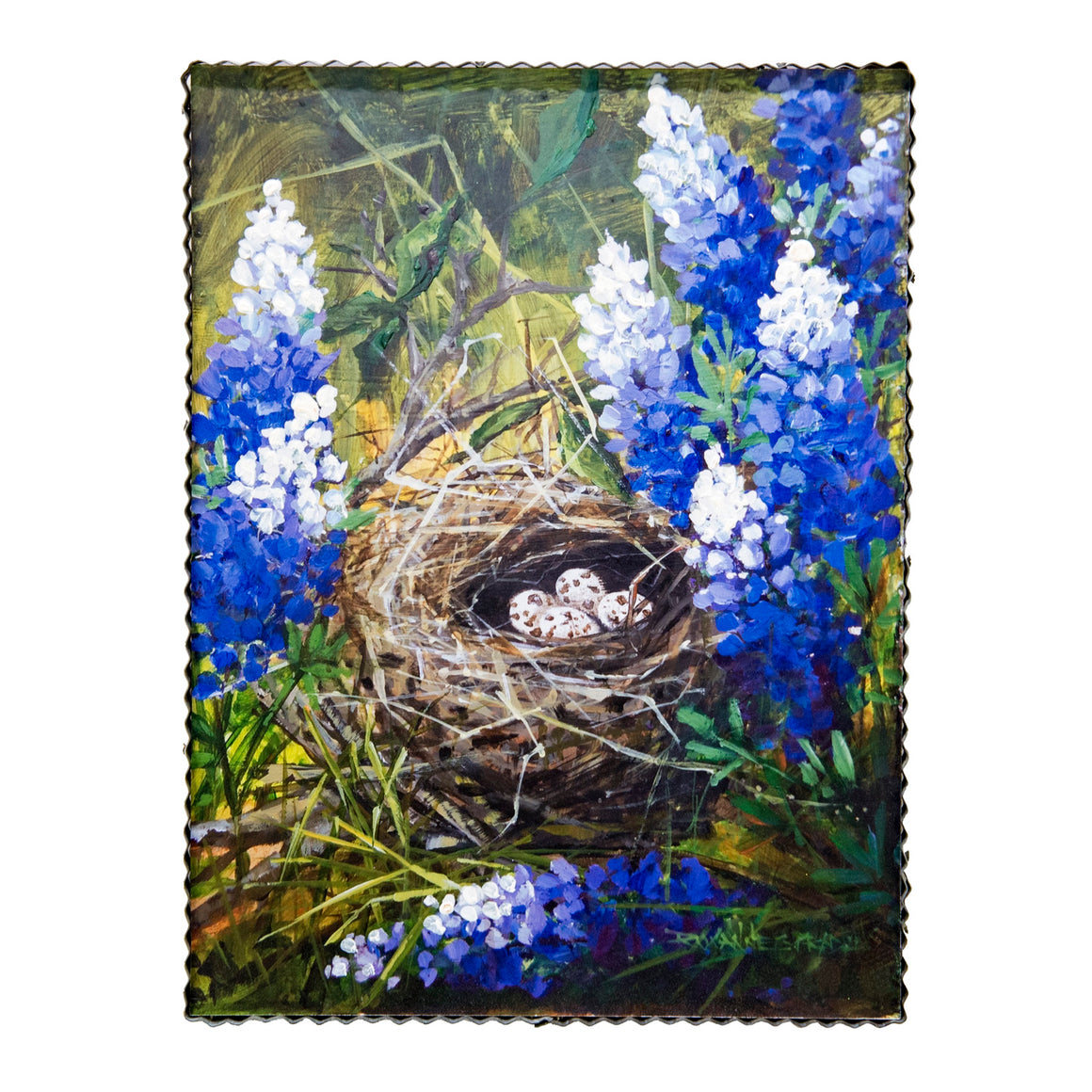 GALLERY BLUEBONNET QUAIL TIME