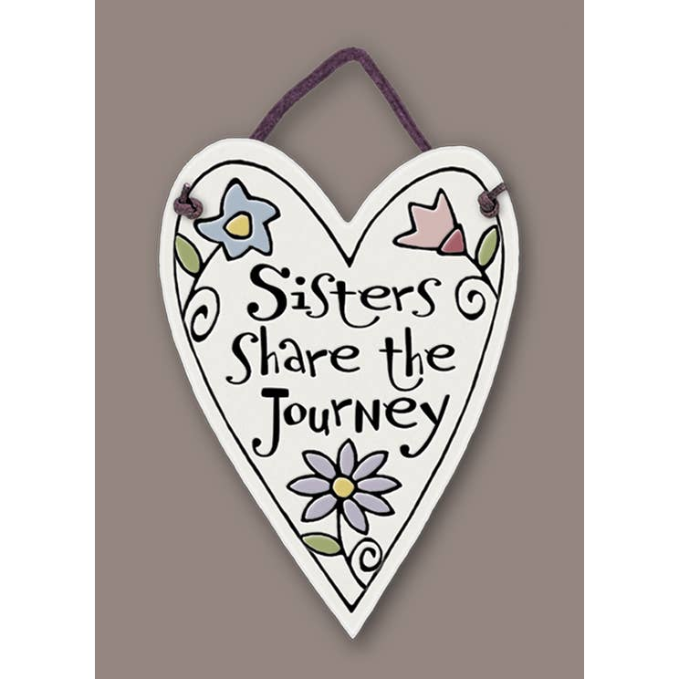 ''Sisters Share the Journey'' Tile