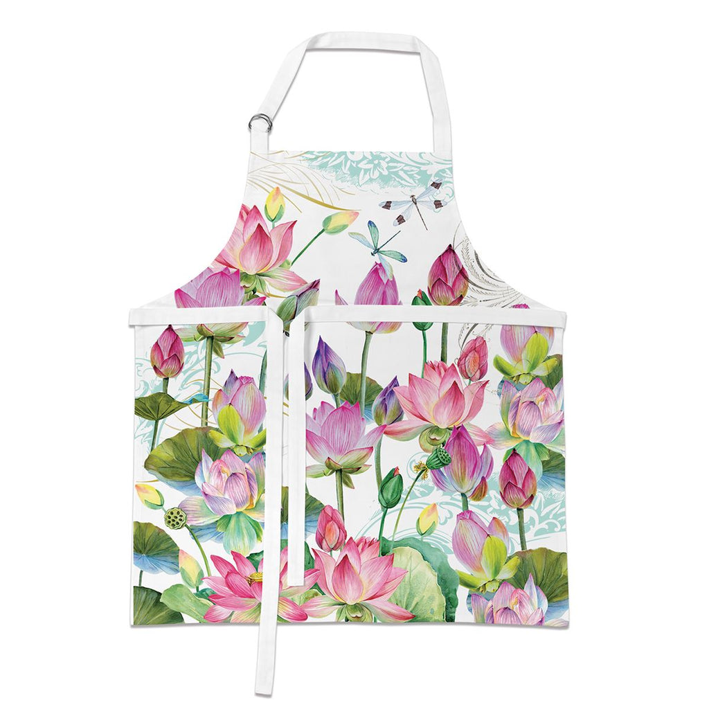 Apron - Water Lilies