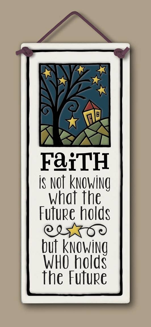 Faith Wall Art Tile