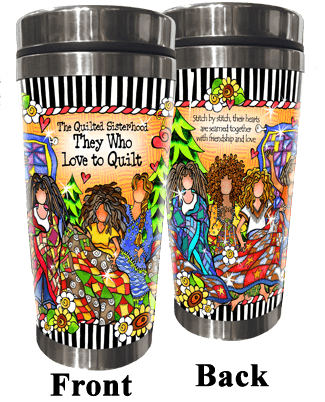 Suzy Toronto Stainless Steel Tumbler - The Quilted Sisterhood