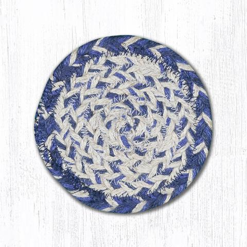 "Blue 5"" Round Coaster Set"