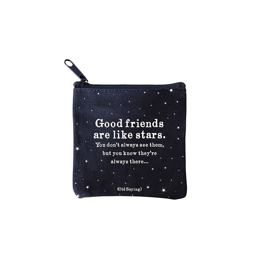 Mini Pouches - Good Friends Stars