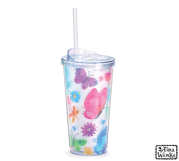 TRAVEL CUP BUTTERFLY BLESSINGS