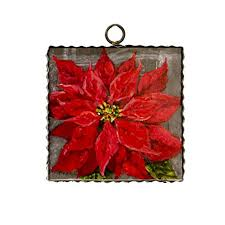 Picture - Poinsettias -Round Top Collections