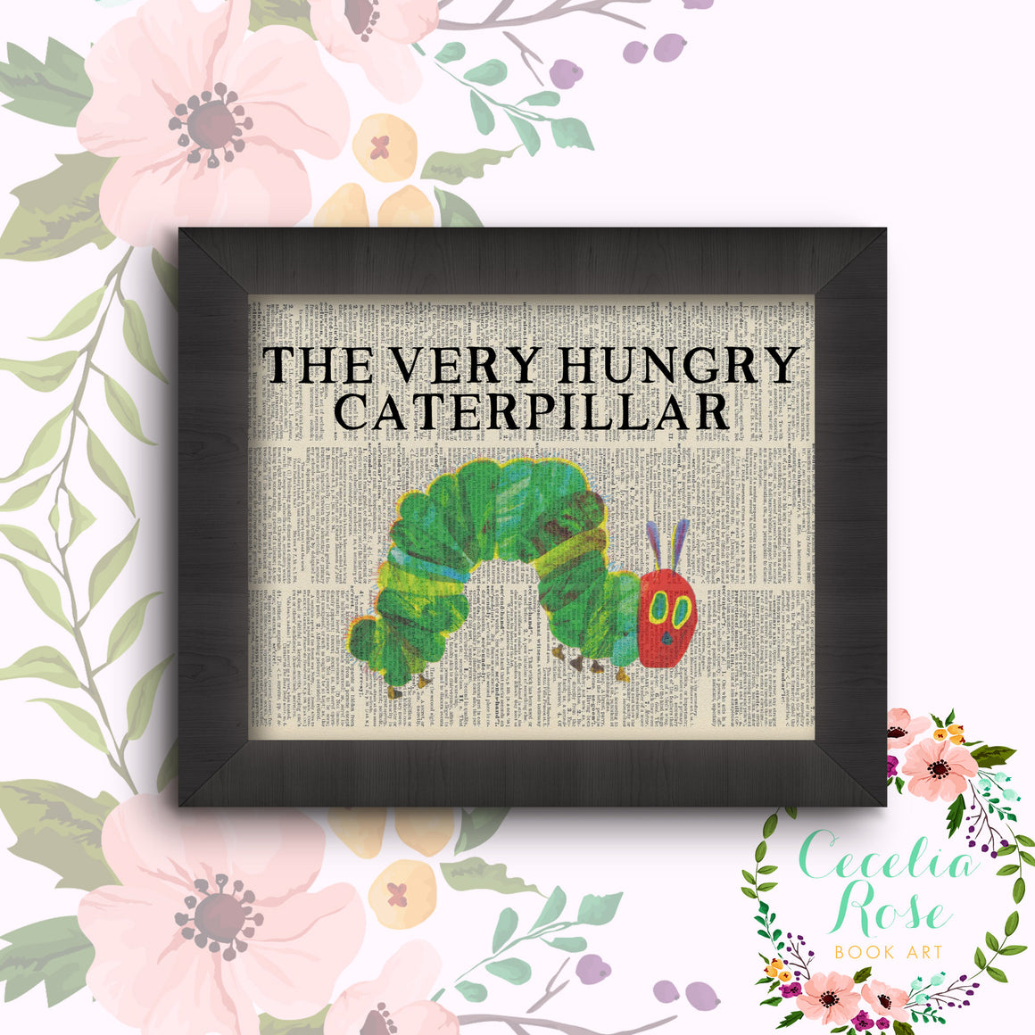 Book Art - The Very Hungry Caterpillar