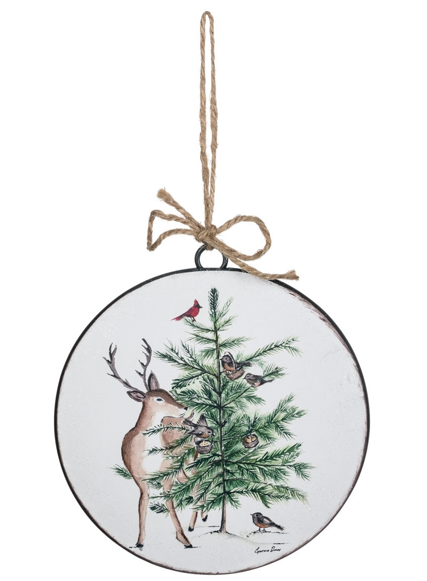 Christmas Ornament - Deer Tree