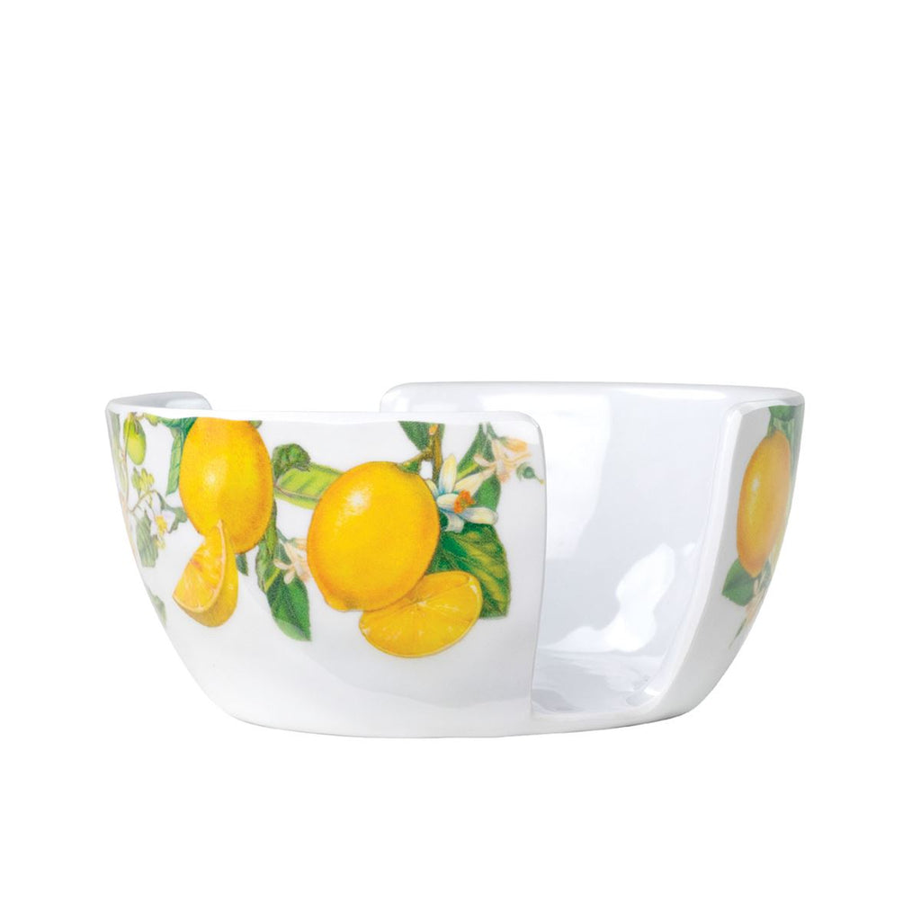 Sponge Holder Lemon Basil Melamine Serveware