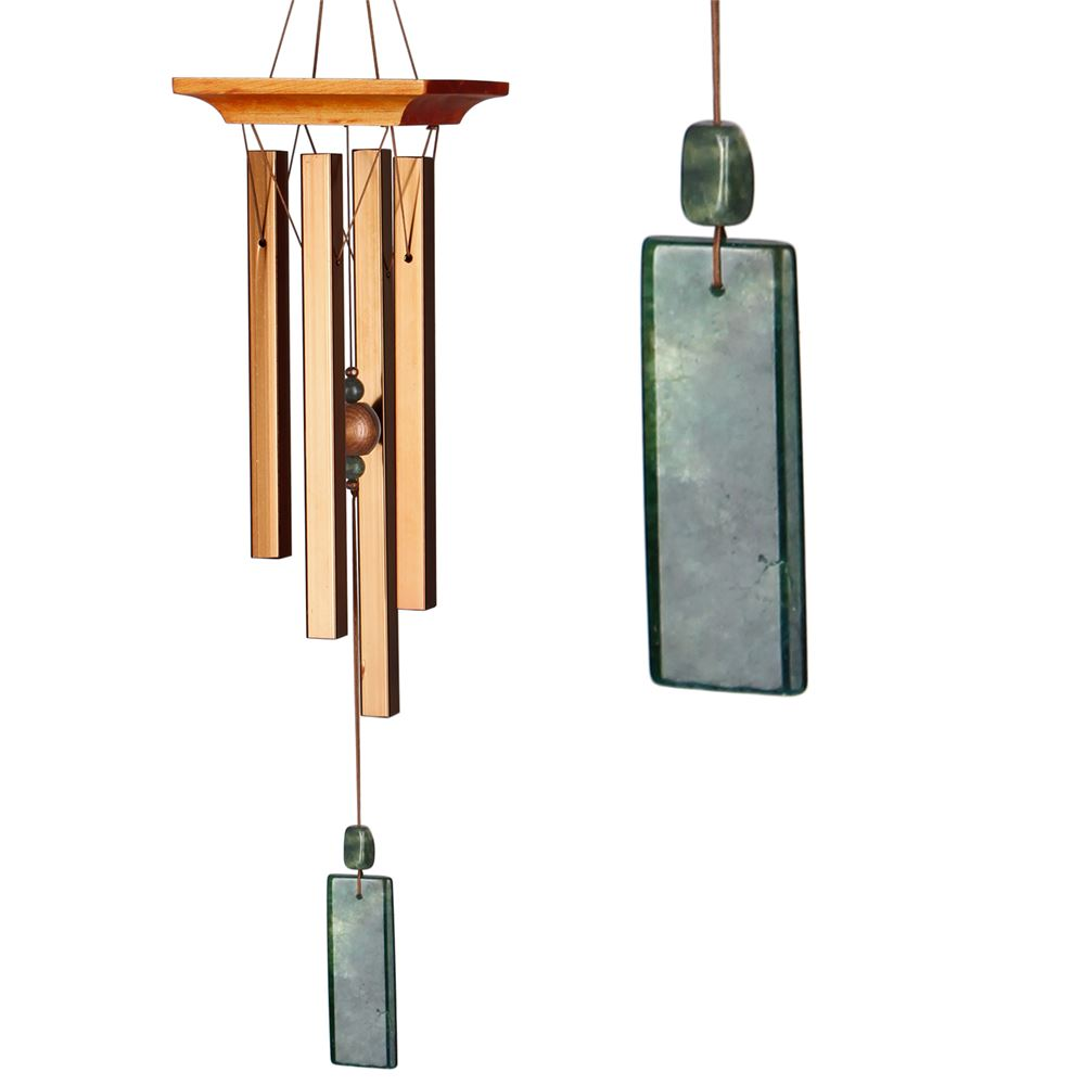Woodstock - Green Jasper Chime
