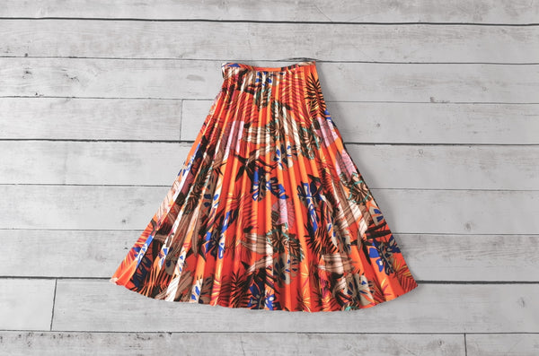 Avila Pleated Skirt