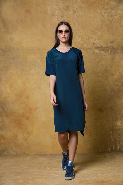 Ragusa Dress with Silk Front