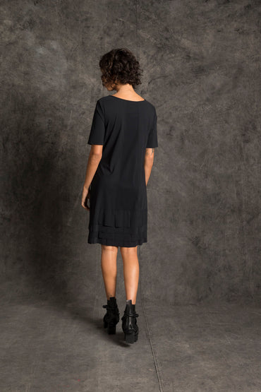 Yuli Flag Hem Dress