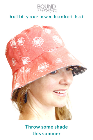 build your bucket hat with custom fabrics and sizes