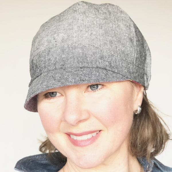reversible cloche hat