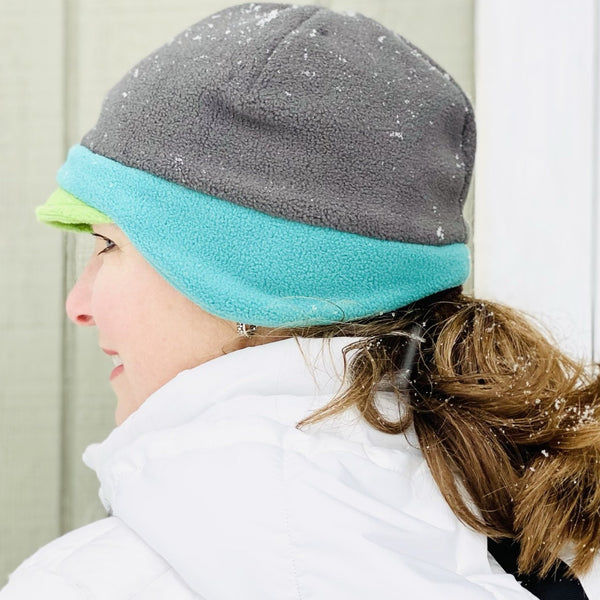 NEW! Trio of Colors! Women's Fleece Beanie Earflap Hat