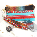 Wristlet Phone Purse for Women, Gift Under 50 for Women, Flannel Phone Clutch Bag