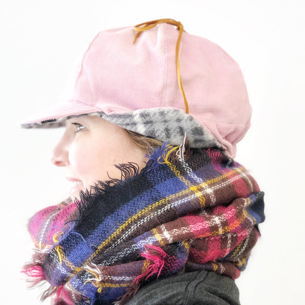 Ear Flap Hat for Women, Bomber Hat with Flaps