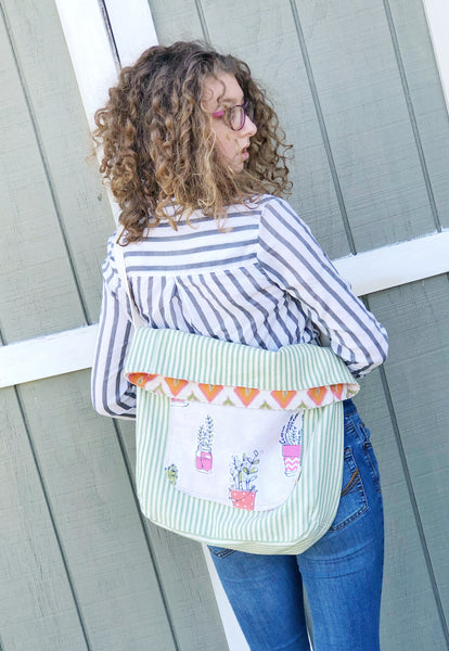 Big Travel Bag, Sleepover Bag, Bag for Market, Market Boho Cross-body, Ready to Ship